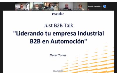 Liderando tu empresa Industrial B2B en Automoción